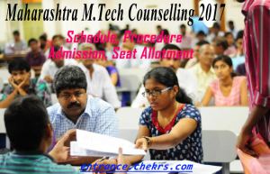 maharahstra m.tech counselling schedule