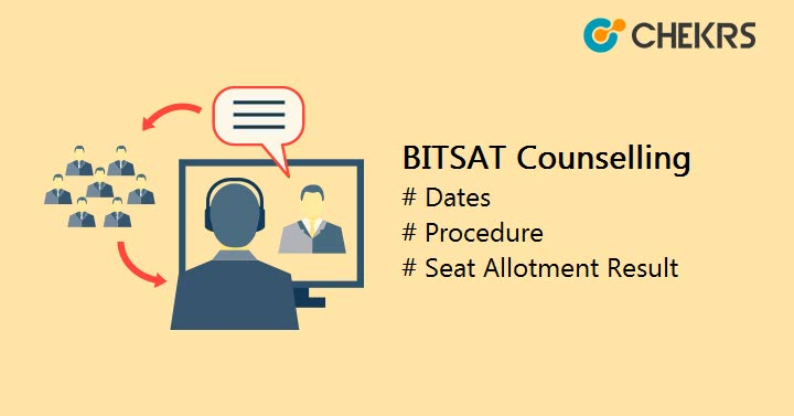 BITSAT Counselling Seat Allotment Result