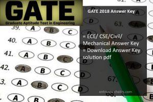 GATE Answer Key, ECE, Civil, CSE, Mechanical Paper Analysis Download