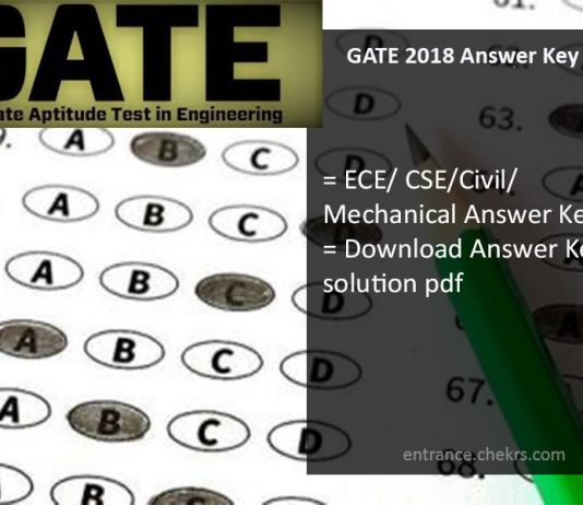 GATE Answer Key, ECE, Civil, CSE, Mechanical Paper Analysis Download
