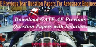 gate aerospace previous question papers