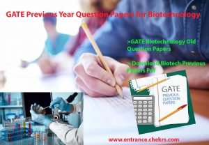 gate biotechnology solved papers