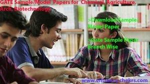 gate sample paper pdf