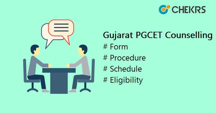 Gujarat PGCET Counselling Form, Procedure