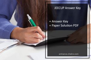 JEECUP Answer Key, Download UP Polytechnic Paper Solution Sheet Pdf
