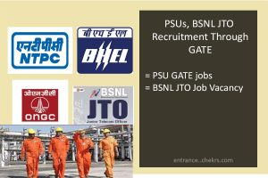 PSUs, BSNL JTO Recruitment through GATE , Jobs, Vacancy