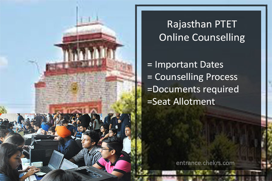 Rajasthan PTET Online Counselling, MDSU Pre B.Ed Schedule, Result