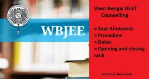 WBJEE JELET Counselling Procedure, Dates, Seat Allotment Result