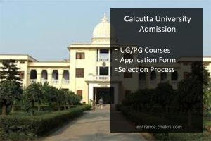 Culcutta University Admission, Application Form, Eligibility, UG PG Admissions