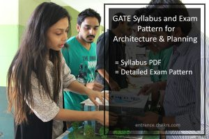 GATE Architecture Syllabus and Exam Pattern- PDF Download