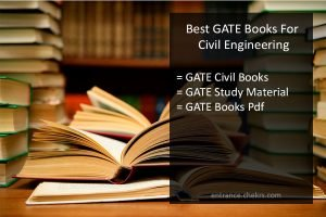 gate civil engineering best books, gate study material, gate books pdf
