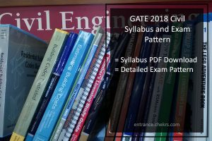 GATE Syllabus for Civil Engineering Exam Pattern Pdf- Download
