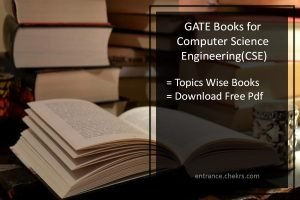 GATE Books for Computer Science (CSE)- Suggested by Toppers