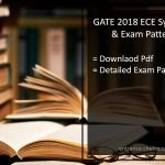 GATE Syllabus for ECE- Pdf Download, Exam Paper Pattern