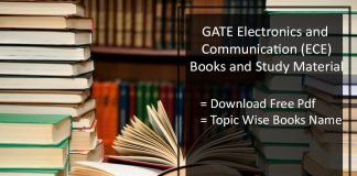 GATE Books for ECE- Best Books PDF By Topper Free Download