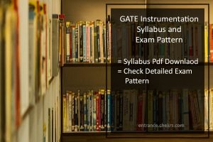 GATE Syllabus and Exam Pattern for Instrumentation- PDF Download