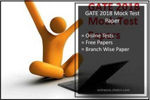 GATE Mock Test for Civil, CSE, ECE, Mechanical Engineering