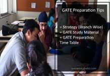 GATE Preparation Tips- Strategy, Time Table for AG, AE, CH, IN