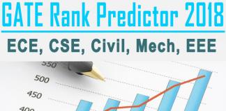 GATE Rank Predictor, Score Calculator, Checker for ECE, CSE, Civil, Mech, EEE