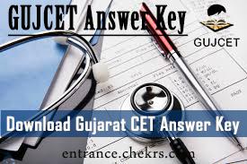 gujcet answer key pdf