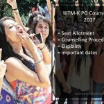 IIITM Kerala PG Counselling- Admission Procedure, Dates, Seat Allotment