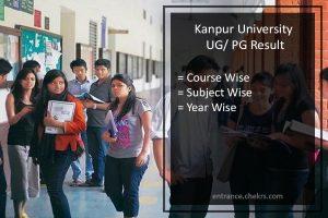 Kanpur University Result - CSJMU UG/ PG Results Download
