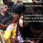 Pune University BA B.Sc B.Com MA M.Sc M.Com Result, Unipune 1st/ 2nd/ 3rd Year Scorecard