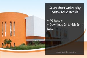 Saurashtra University MCA MBA MSC 2nd/ 4th Semester Result, Name Wise