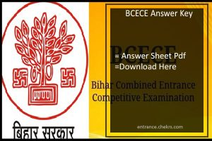 BCECE Answer Key, Bihar 18th June Exam Answer Sheet Pdf Download