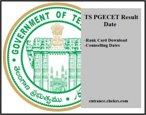 TS PGECET Result 2017 Date- Rank Card Download, Counselling Dates