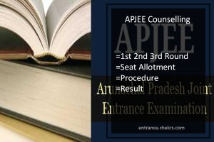 APJEE Counselling, 1st 2nd 3rd Round Seat Allotment Procedure & Result