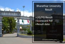 Bharathiar University Result, BA-BSC-BCOM, MA-M.Sc-M.Com Result @b-u.ac.in