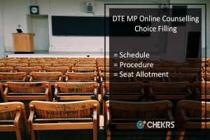 DTE MP Online Counselling Choice Filling 2017 Link- Schedule, Seat Allotment Procedure