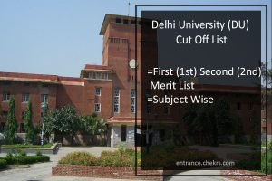 DU 1st Cut Off List 2020