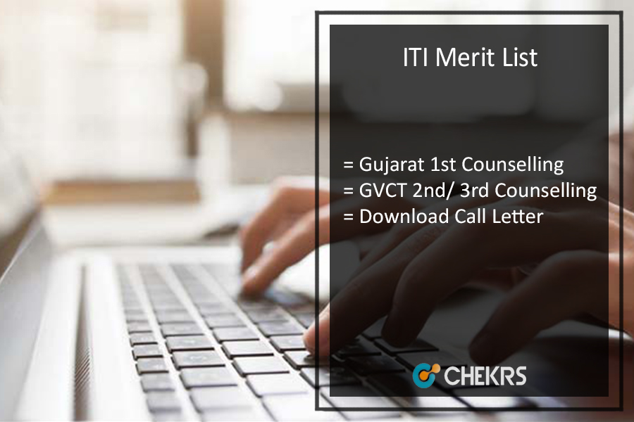 ITI Merit List Gujarat 1st 2nd 3rd Counselling Call Letter Download