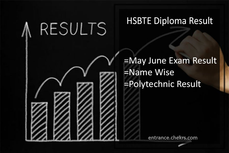 HSBTE Diploma Result - 2nd 4th 6th Polytechnic May-June Results