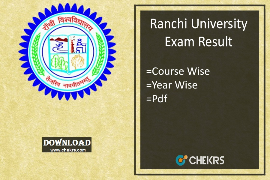 Ranchi University Result 2018