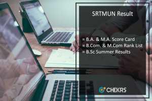 SRTMUN Result FY BA BSC BCOM MA MCOM Summer Results @srtmun.ac.in