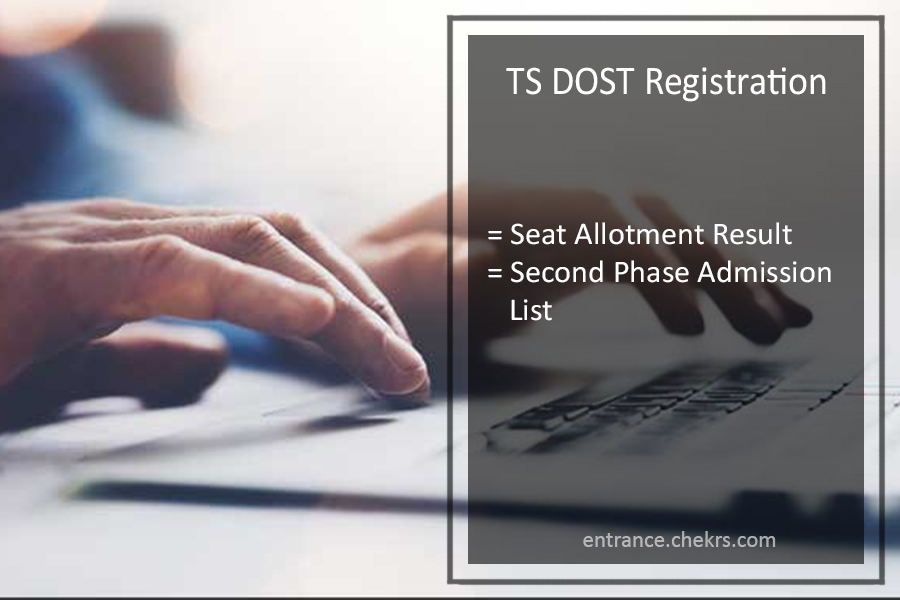 TS DOST Registration - DOST 2nd Phase Seat Allotment Result