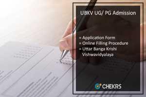 UBKV Admission, UG PG Application Form- Uttar Banga Krishi Vishwavidayalaya