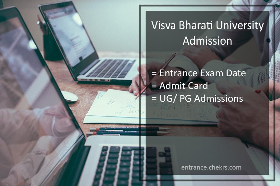Visva Bharati University Admission - Entrance Exam Date, Admit Card To Be Released