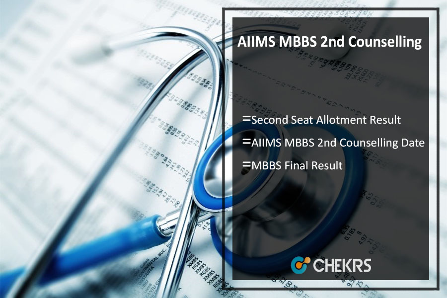 AIIMS MBBS 2nd Counselling 2017 Dates, Second Seat Allotment Result