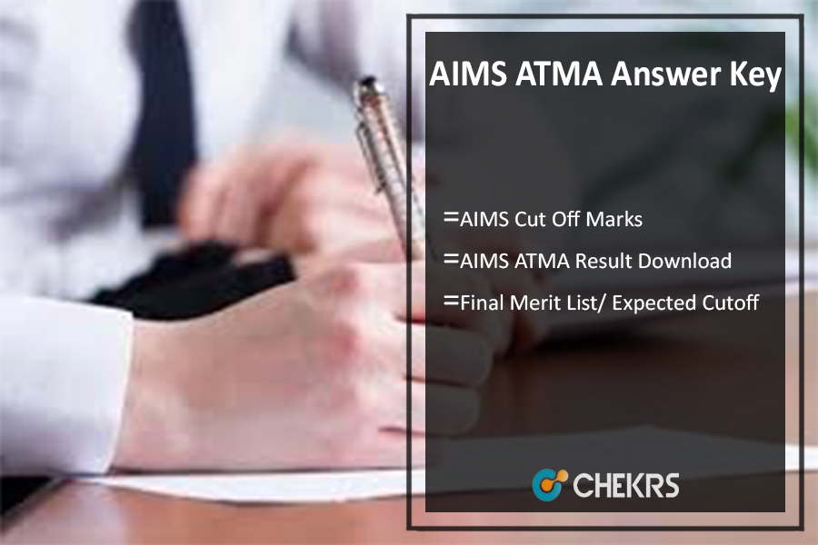 AIMS ATMA Answer Key, Cut Off Marks, Result Releasing on 28th July