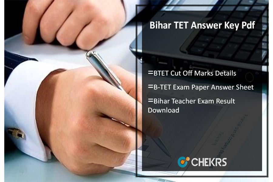 Bihar TET 23rd July Answer Key Pdf, BTET Cut Off, उत्तर कुंजी Download