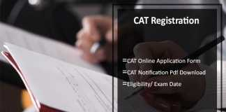 CAT Registration, Apply Online, Eligibility, Exam Date 26th Nov