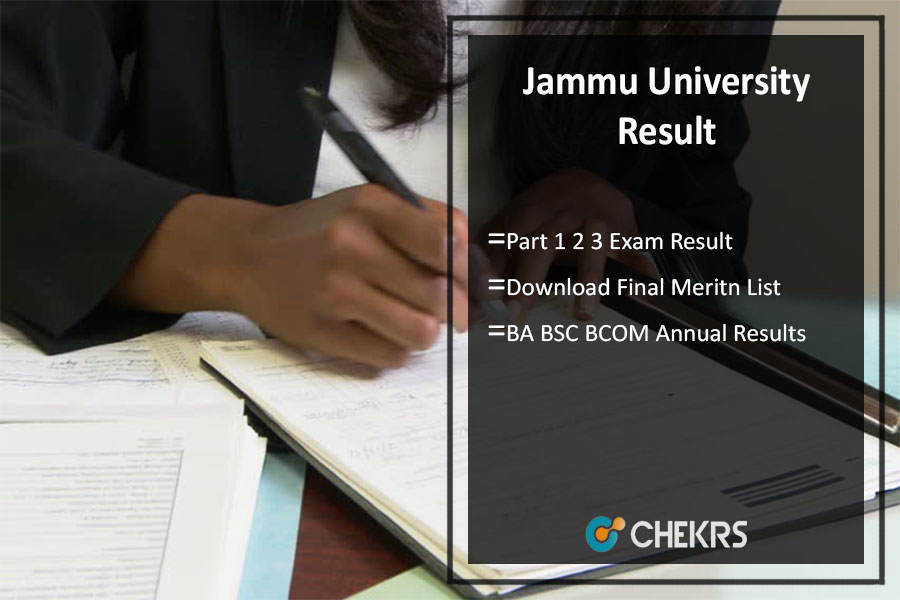 Jammu University Part 1 2 3 Result, BA BSC BCOM Annual Results Download