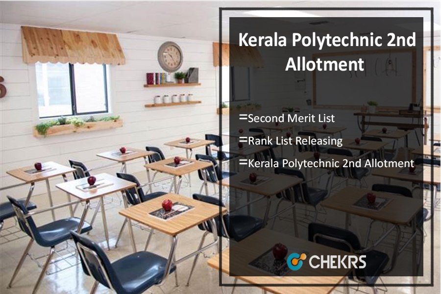 Kerala Polytechnic 2nd Allotment, Second Merit List, Rank List Releasing on 25th July