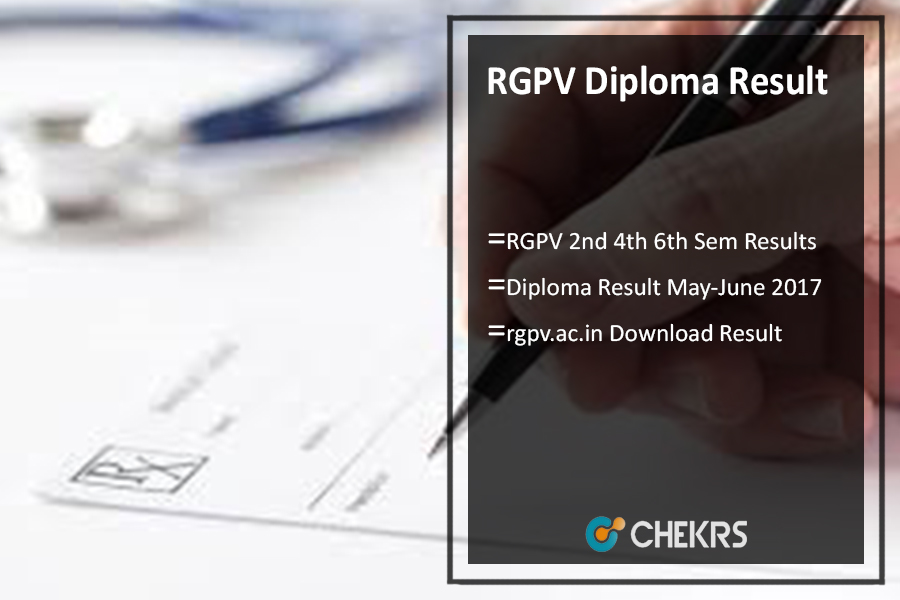 rgpv.ac.in Diploma Result May-June, RGPV 2nd 4th 6th Sem Results Download