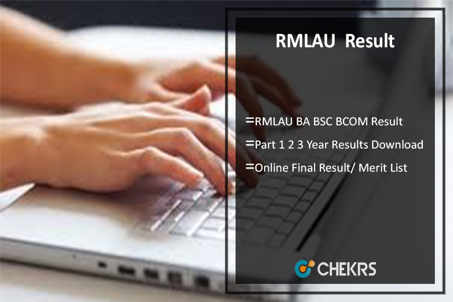 RMLAU BA BSC BCOM Result, Part 1 2 3 Year Results @rmlauexams.in