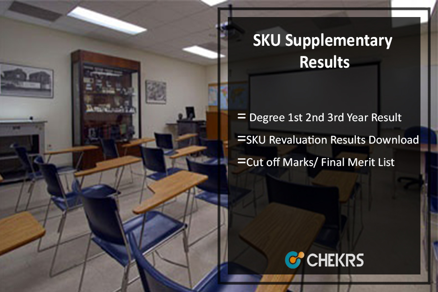 SKU Supplementary Results, Degree 1st 2nd 3rd Year Revaluation Results Download